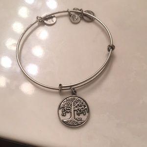 Alex and Ani Tree bracelet